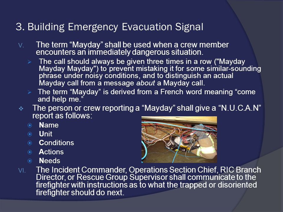 3. Building Emergency Evacuation Signal