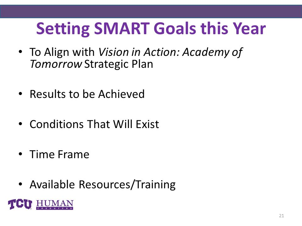 Setting SMART Goals this Year