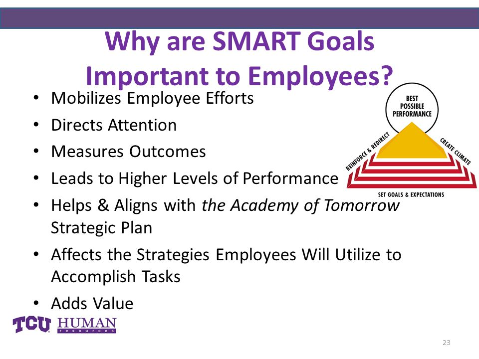 Why are SMART Goals Important to Employees
