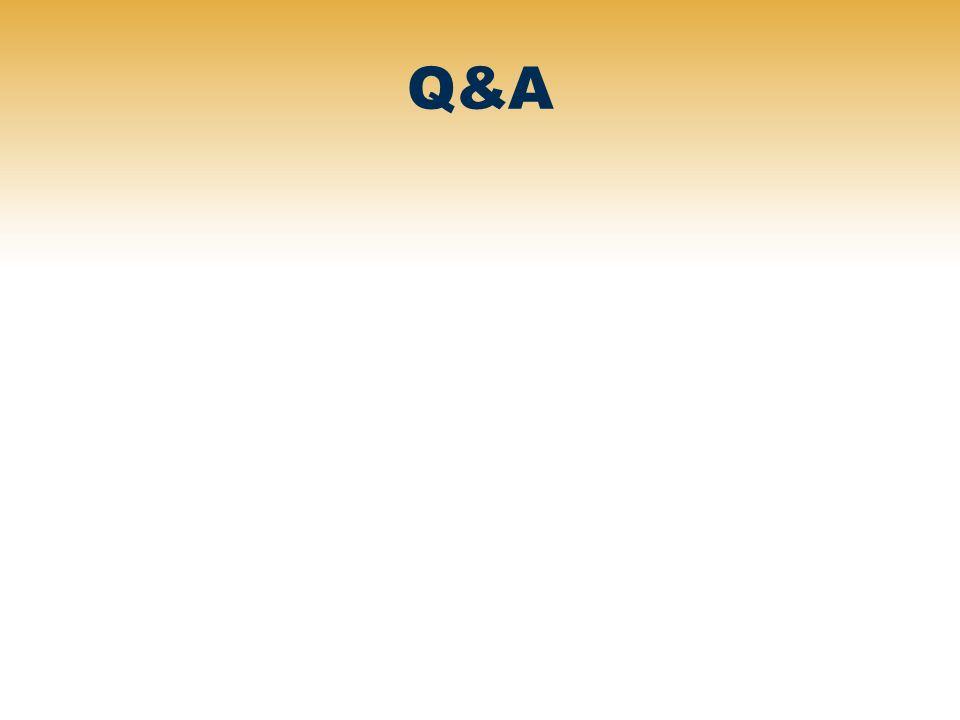 Q&A NOTES.