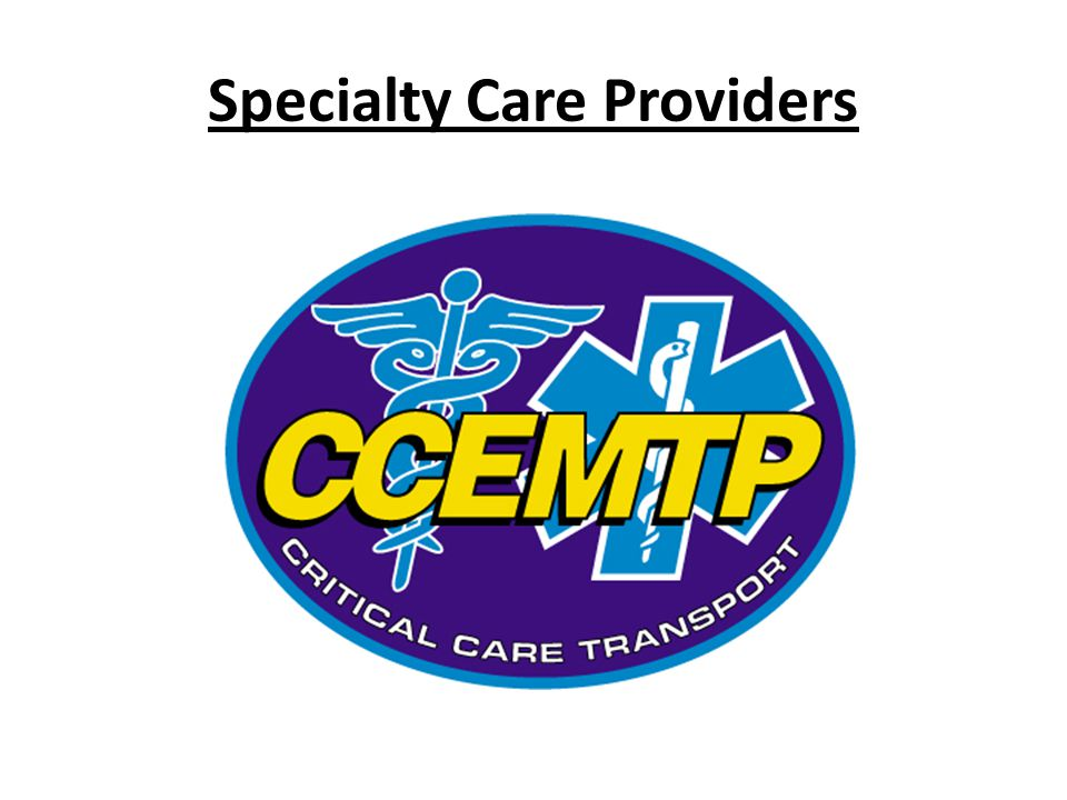Specialty Care Providers