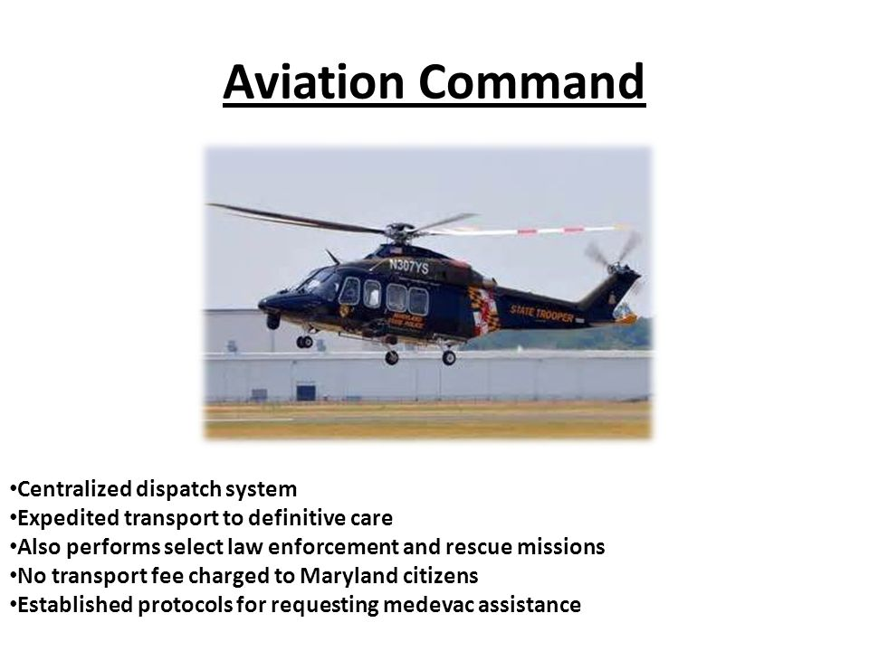 Aviation Command Centralized dispatch system
