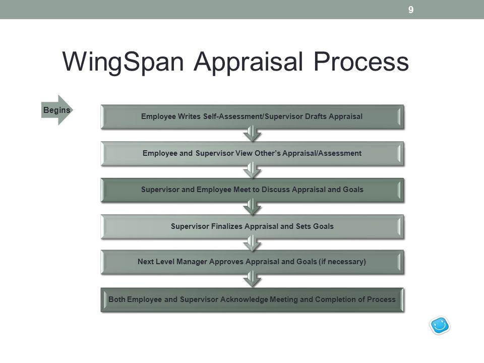 WingSpan Appraisal Process