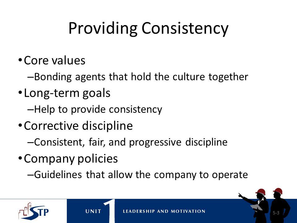 Providing Consistency