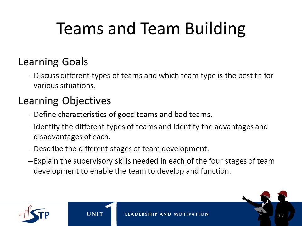 Teams and Team Building