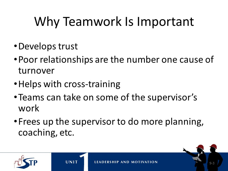 Why Teamwork Is Important
