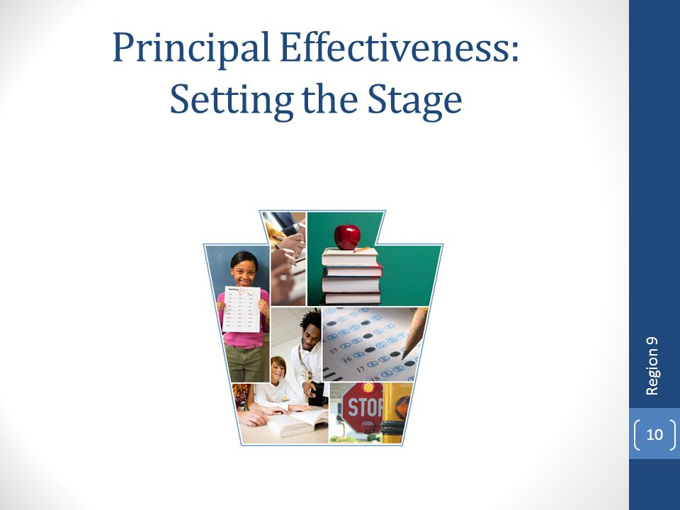 Principal Effectiveness: Setting the Stage