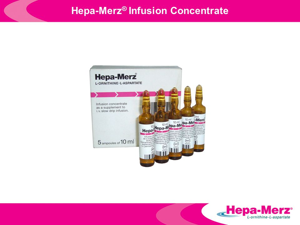 Hepa-Merz® Infusion Concentrate