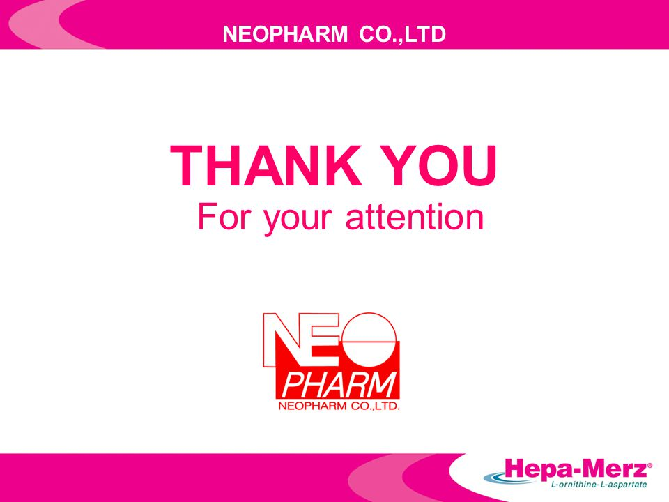 NEOPHARM CO.,LTD THANK YOU For your attention
