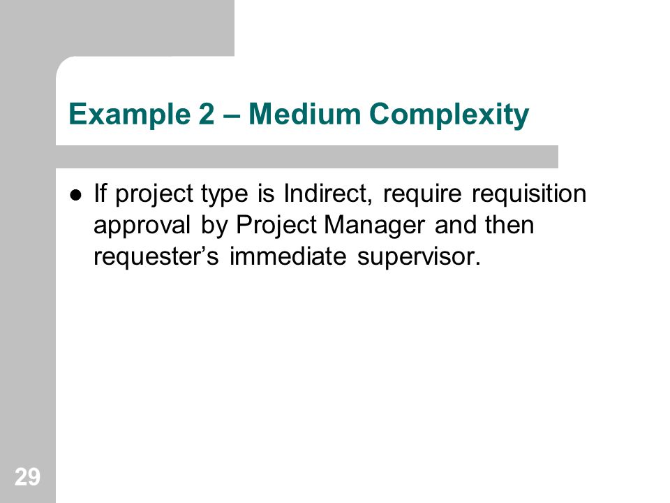 Example 2 – Medium Complexity