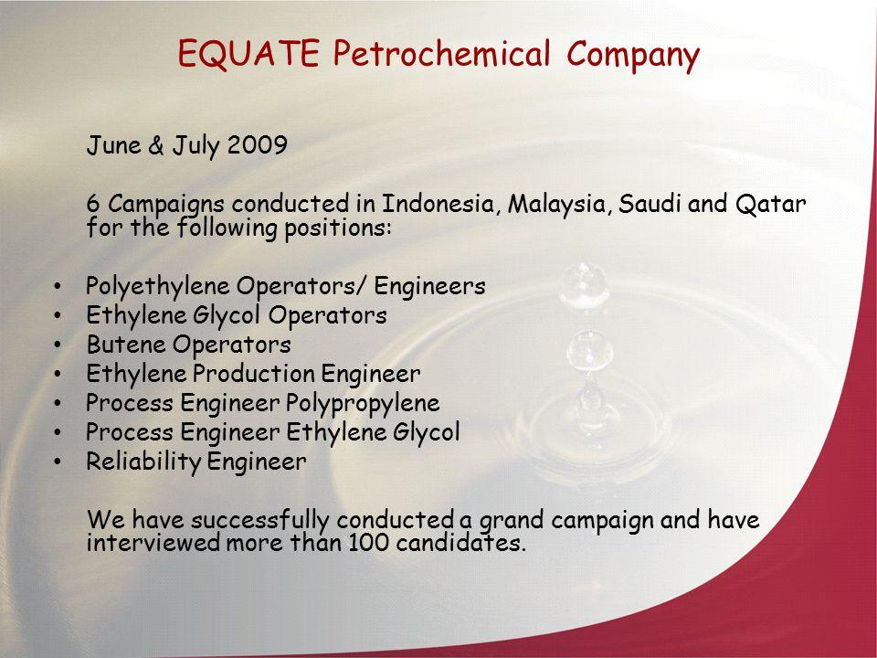 EQUATE Petrochemical Company