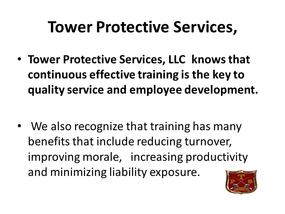 Tower Protective Services,