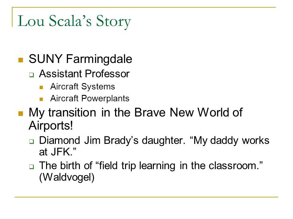 Lou Scala's Story SUNY Farmingdale