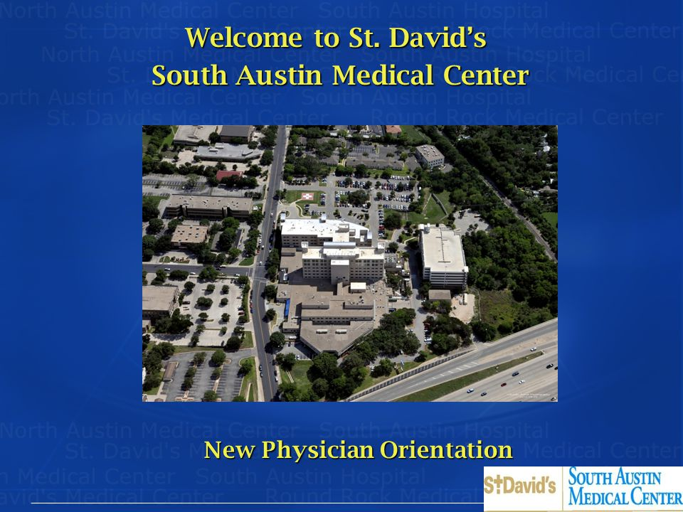 Welcome to St. David's South Austin Medical Center