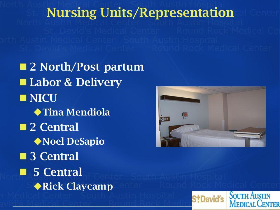 Nursing Units/Representation