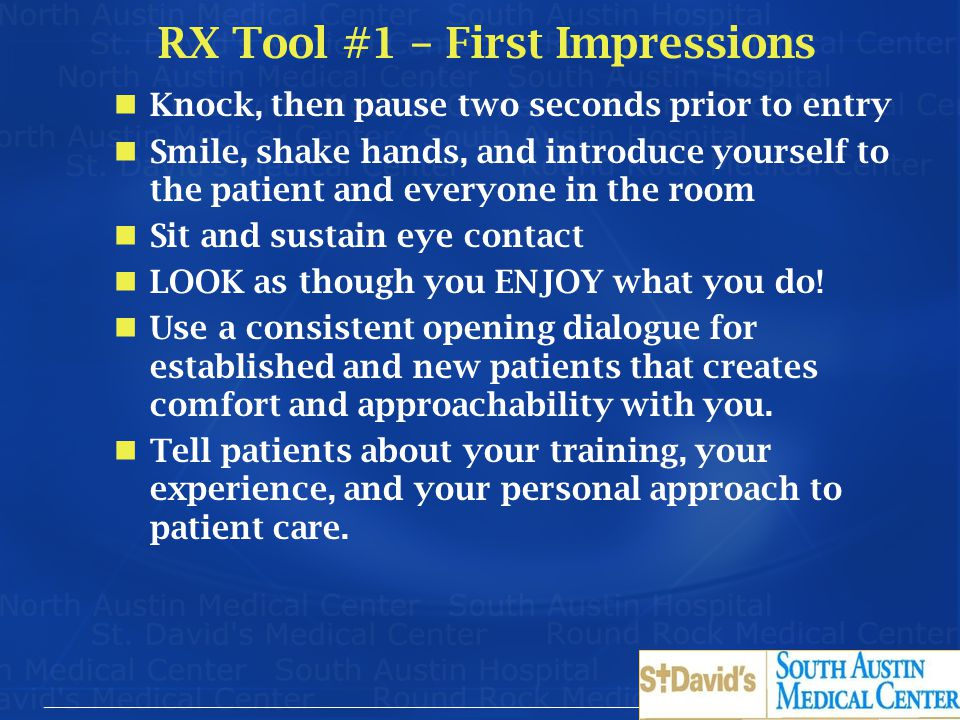RX Tool #1 – First Impressions