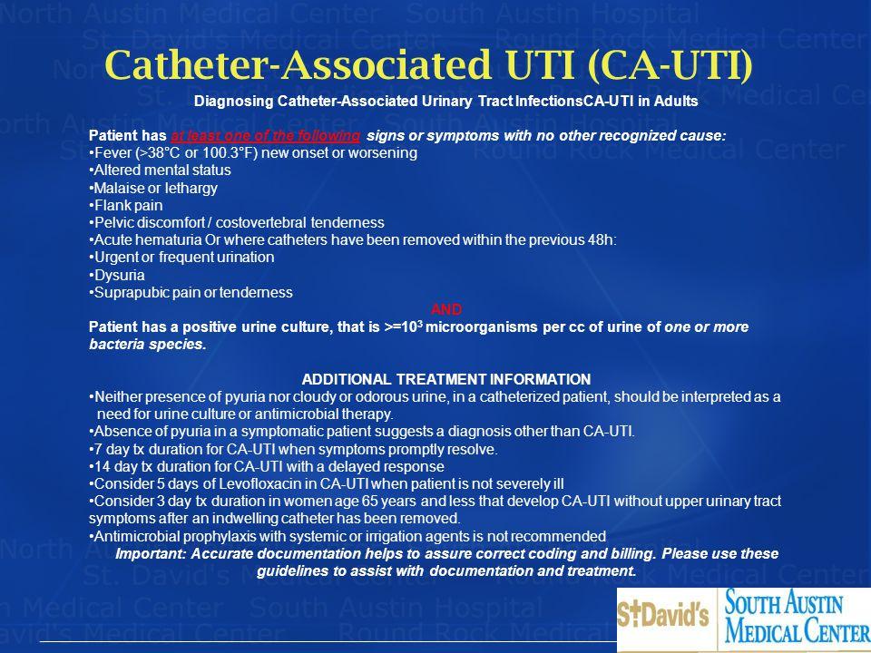 Catheter-Associated UTI (CA-UTI)