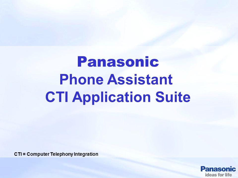 CTI = Computer Telephony Integration