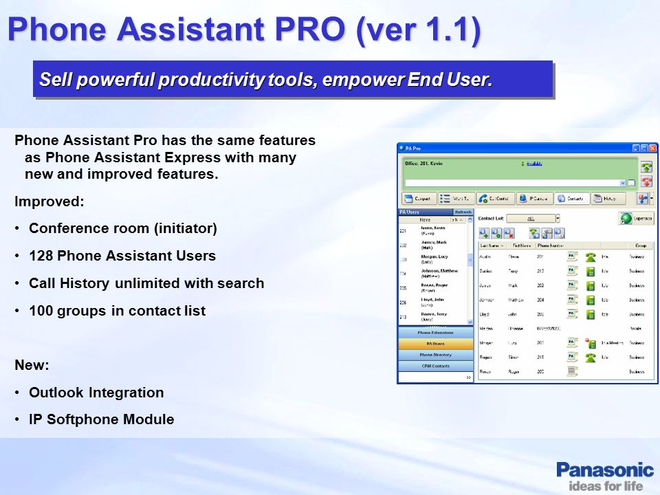 Phone Assistant PRO (ver 1.1)