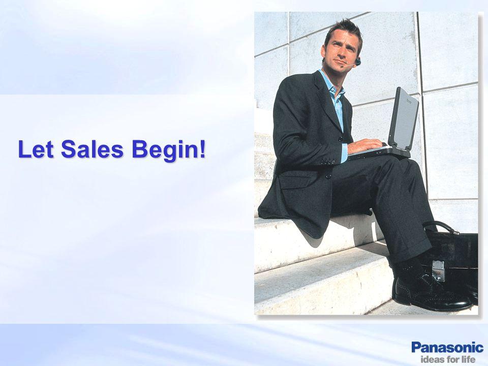Let Sales Begin!