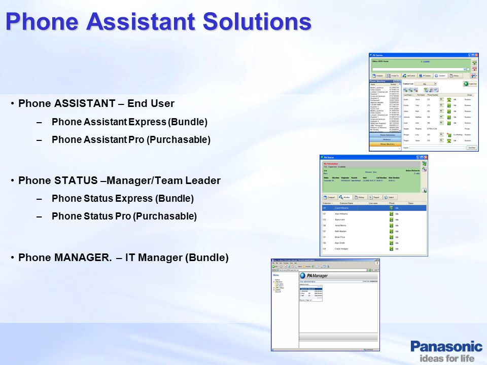 Phone Assistant Solutions