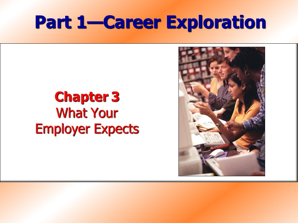 Part 1—Career Exploration
