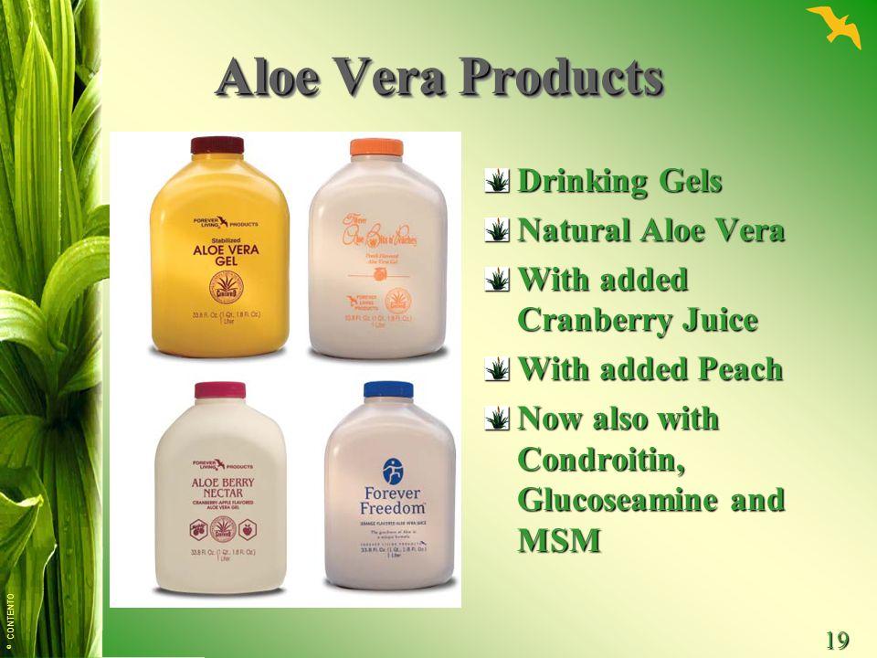 Aloe Vera Products Drinking Gels Natural Aloe Vera