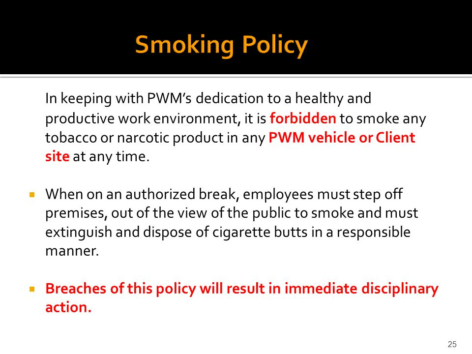 no smoking allowed on the job or off No smoking allowed case background in employers shouldn't have the right to restrict or ban smoking by their employees off the job off the job smoking is their.