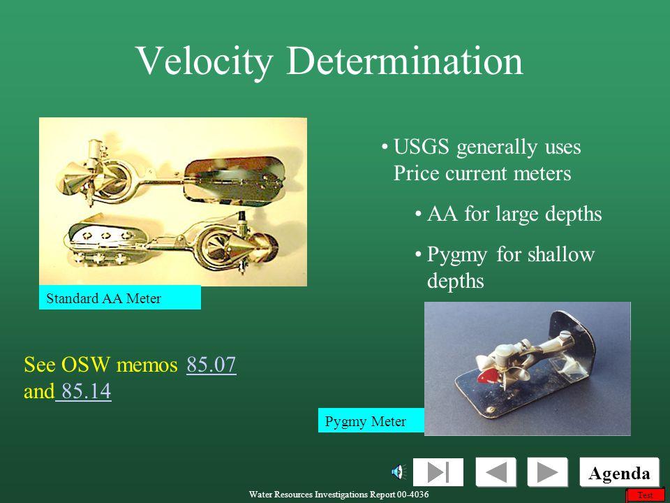Velocity Determination