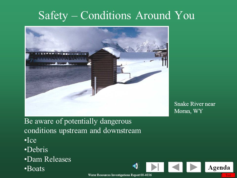 Safety – Conditions Around You