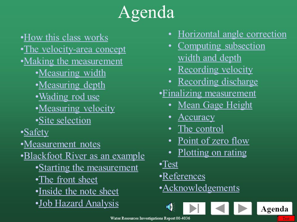 Agenda Horizontal angle correction How this class works