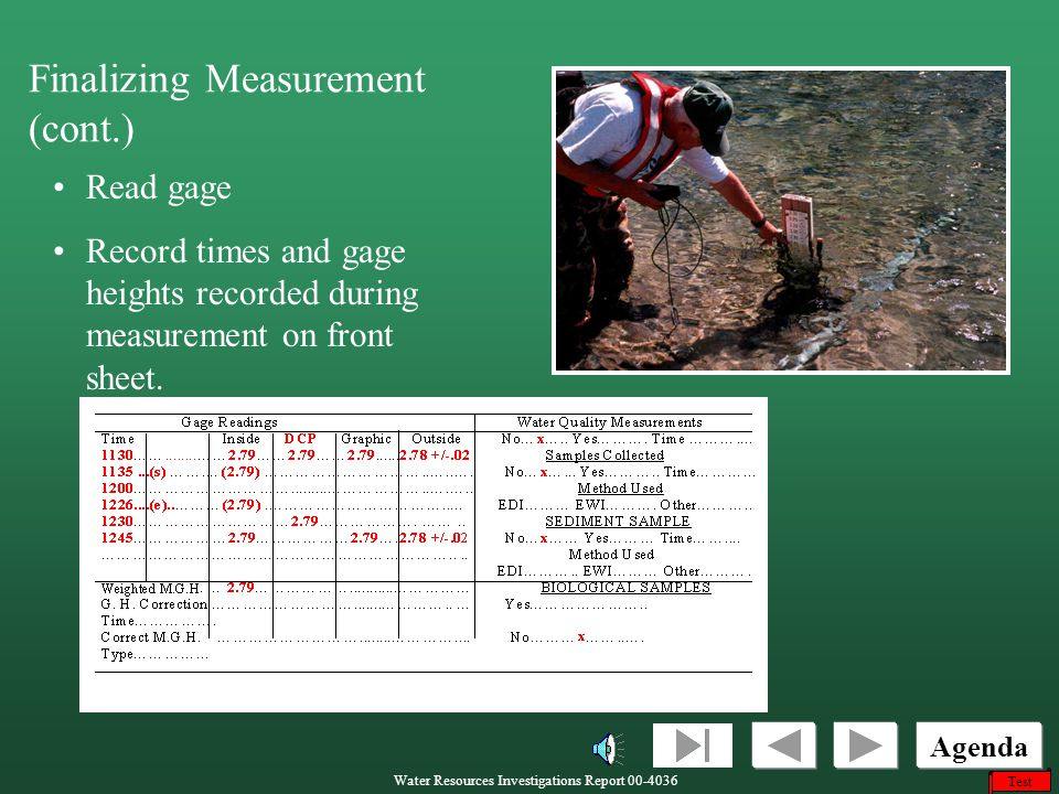 Finalizing Measurement (cont.)