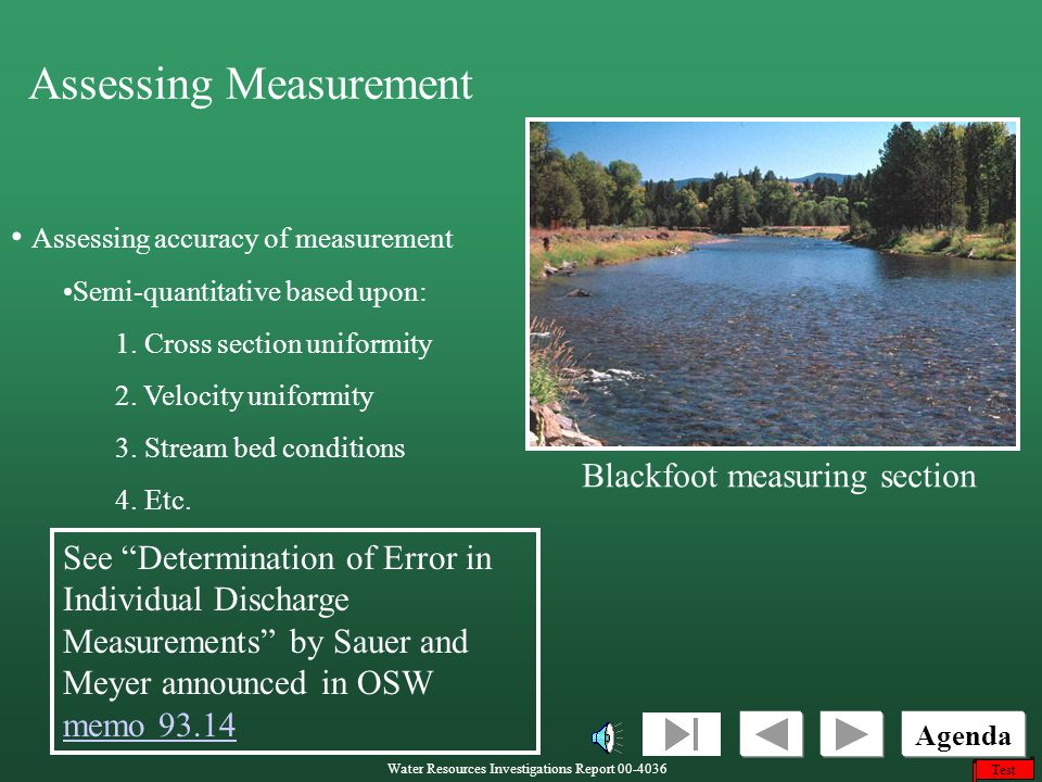Assessing Measurement