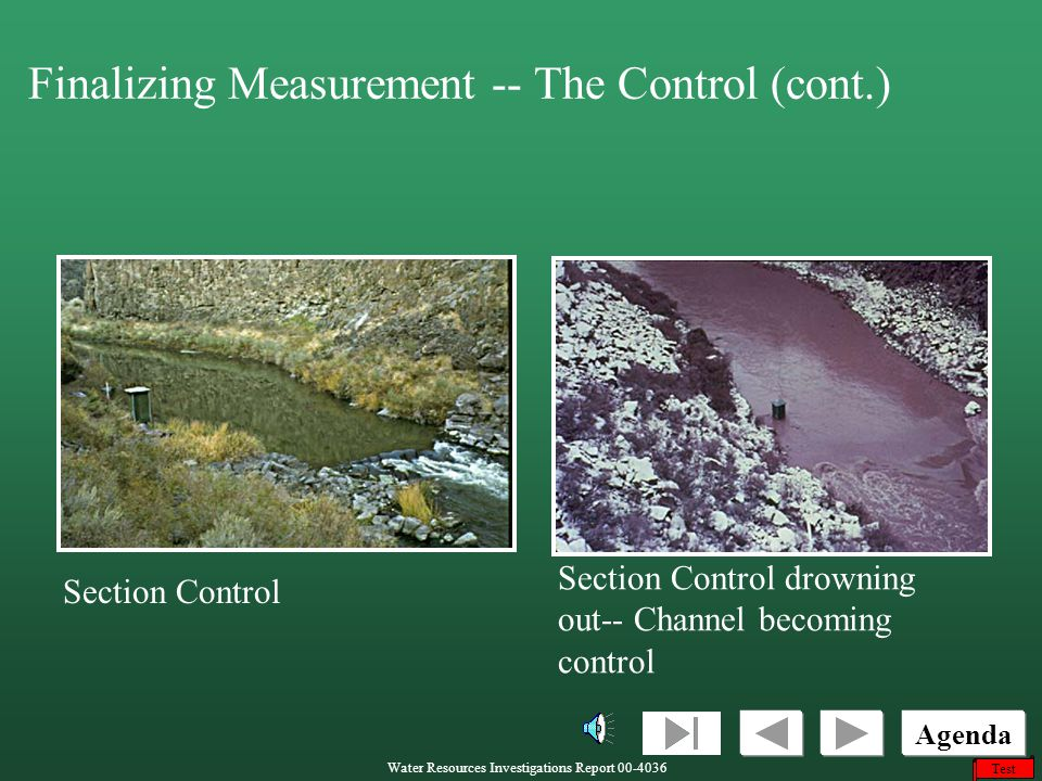 Finalizing Measurement -- The Control (cont.)