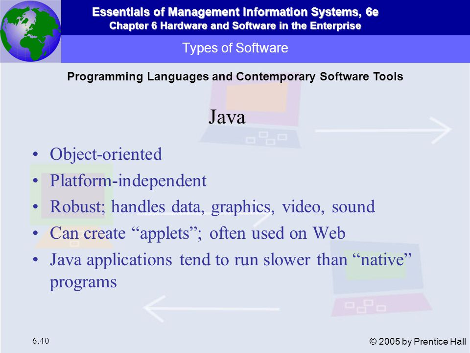 Programming Languages and Contemporary Software Tools
