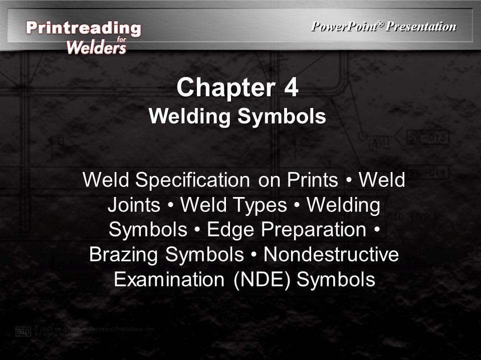 Chapter 4 Welding Symbols