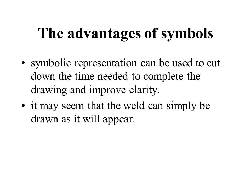 The advantages of symbols