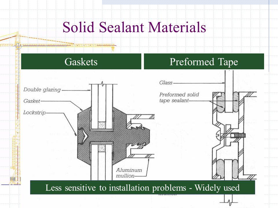 Solid Sealant Materials