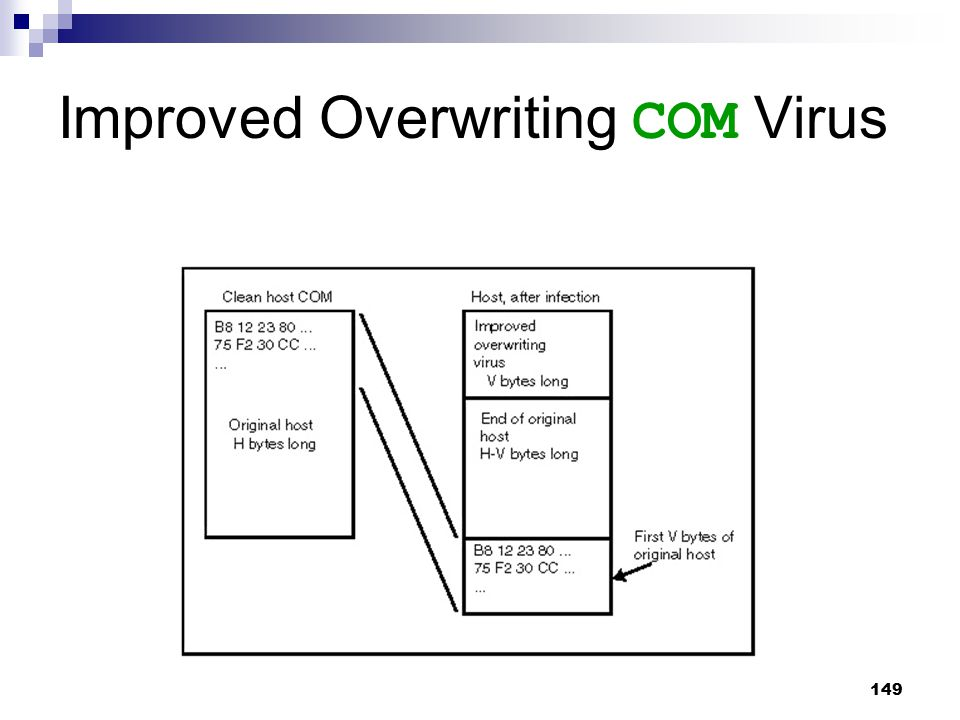 Improved Overwriting COM Virus