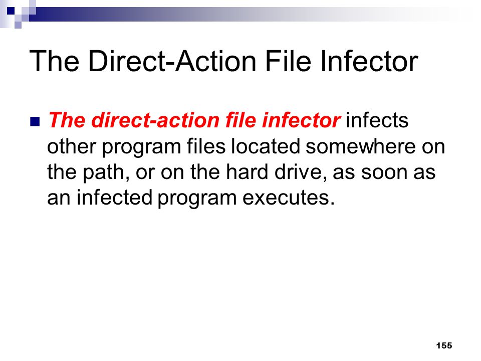The Direct-Action File Infector