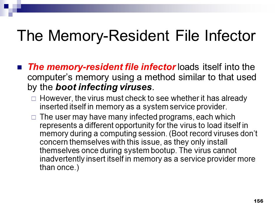 The Memory-Resident File Infector