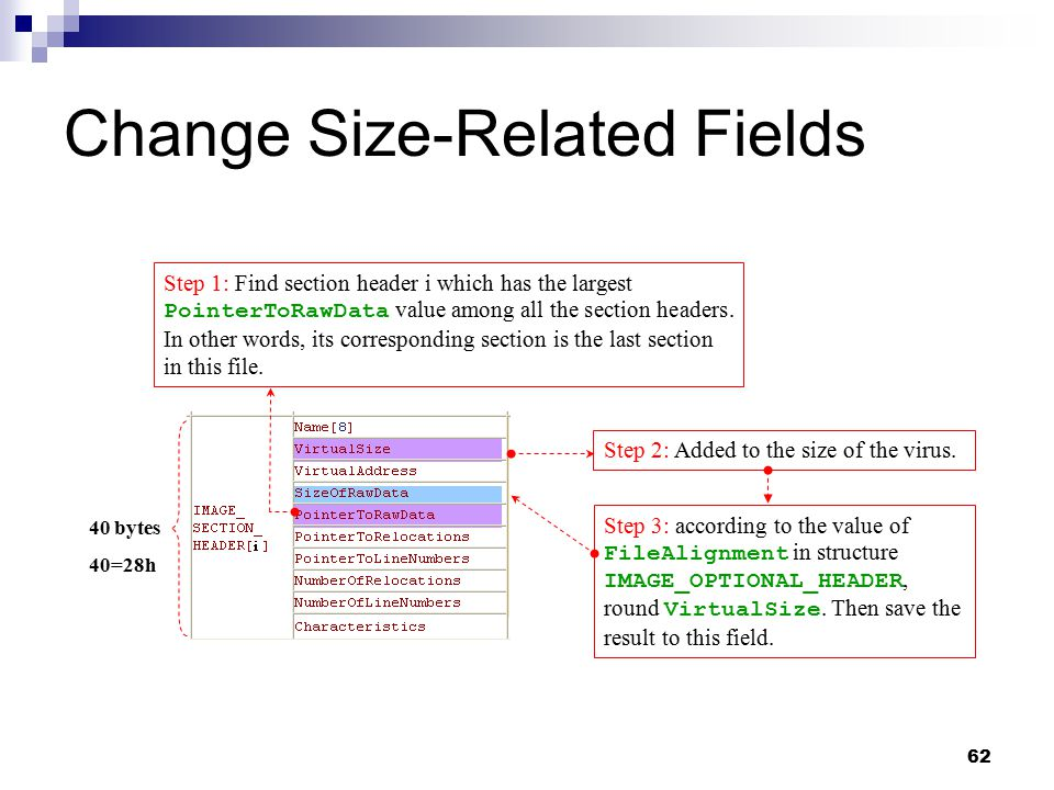Change Size-Related Fields