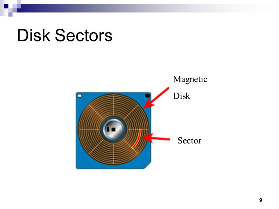 Disk Sectors Magnetic Disk Sector