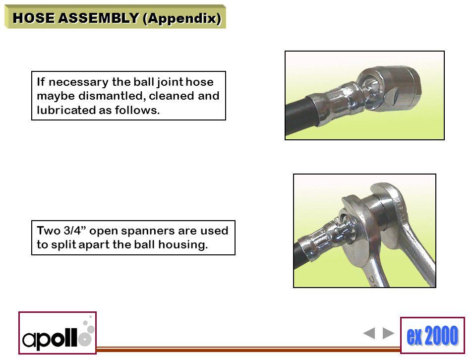 HOSE ASSEMBLY (Appendix)