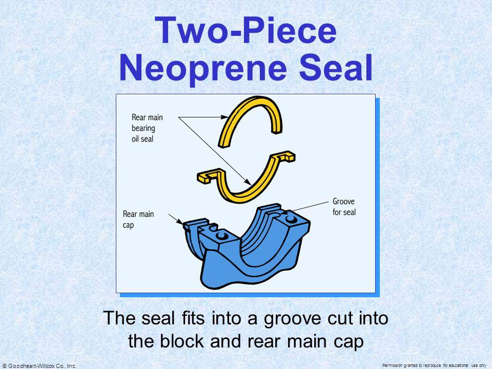 Two-Piece Neoprene Seal