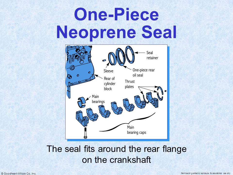 One-Piece Neoprene Seal
