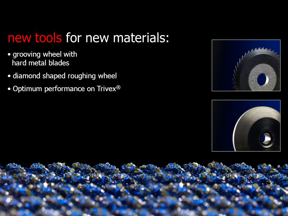 new tools for new materials: