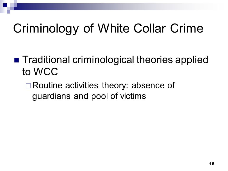 white collar crime research questions
