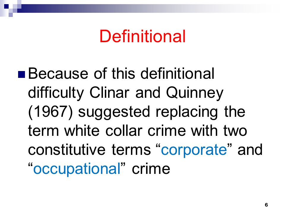 Definitional