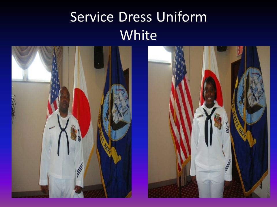 Service Dress Uniform White